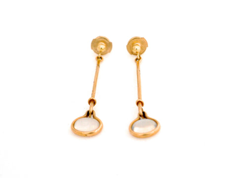 Georg Jensen Gold Earrings