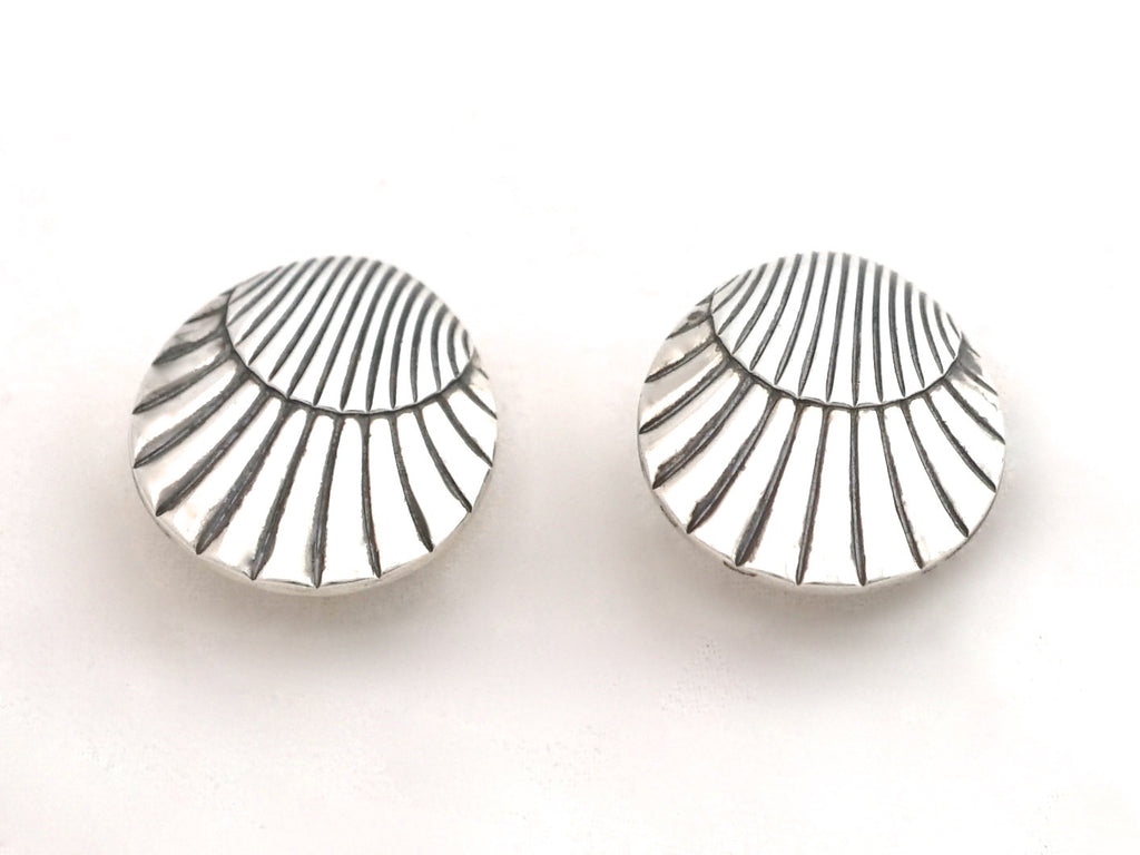 Georg Jensen Silver Clip on Earrings