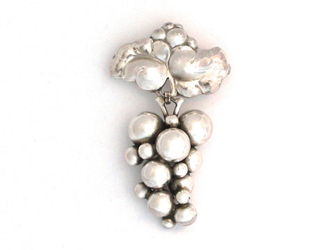 Georg Jensen Grape Brooch
