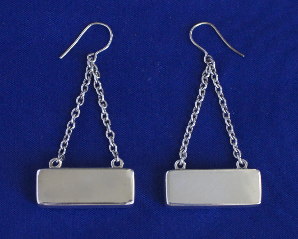 Georg Jensen Silver Earrings