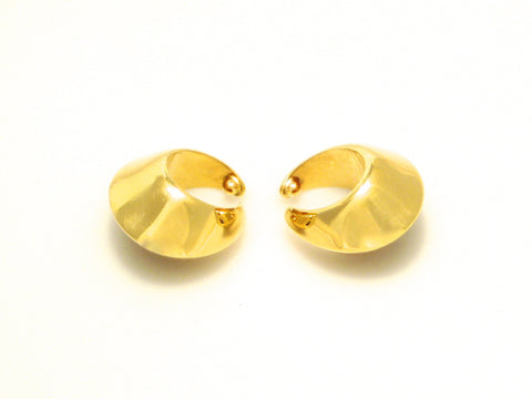 Georg Jensen Gold Earhooks