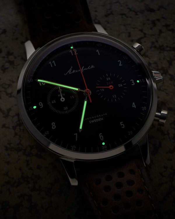 Chronograph | 12h/24h watch