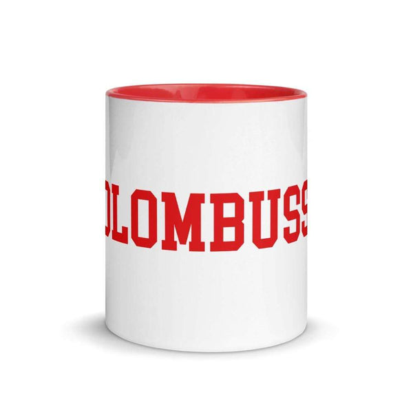 "11 oz. French ""Columbus"" Ceramic Mug - Conrads College Gifts"