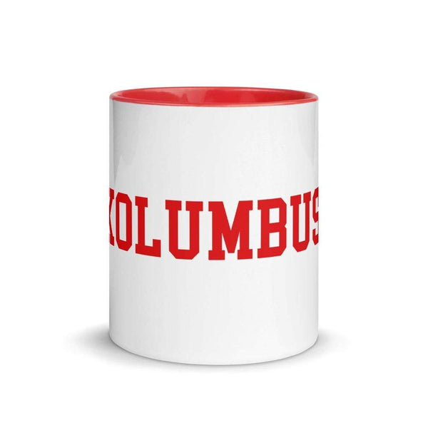 "11 oz. German ""Columbus"" Ceramic Mug - Conrads College Gifts"