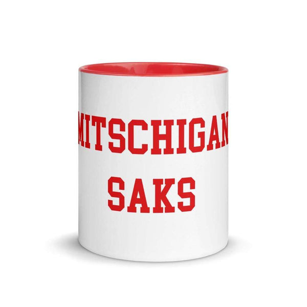"11 oz. German ""Michigan Sucks"" Ceramic Mug - Conrads College Gifts"