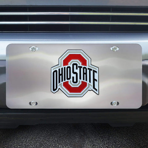 Ohio State Buckeyes Silver Auto Emblem-- Package of 2
