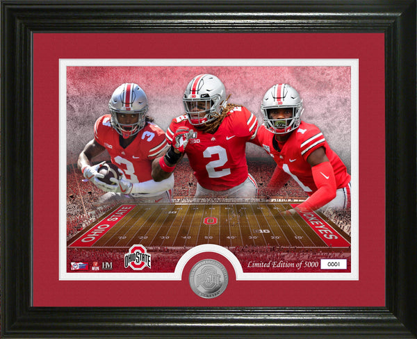 "13"" x 16"" Ohio State Buckeyes 2020 NFL 1st Round Picks Framed Photo - Conrads College Gifts"