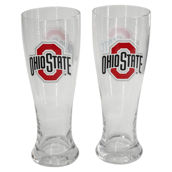 16 oz Athletic O Pilsner Glasses - 2 Pack - Conrads College Gifts