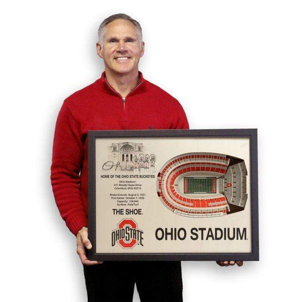 25 Layer Ohio Stadium 3D Cut Out Picture - Conrads College Gifts