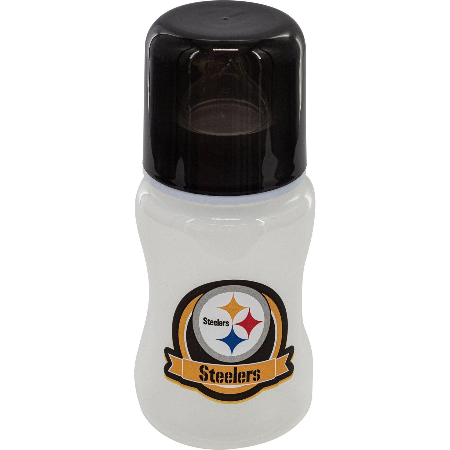 9 oz Pittsburgh Steelers Baby Bottle - Conrads College Gifts