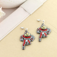 Load image into Gallery viewer, Brutus Rhinestone Dangle Earrings - Conrads College Gifts