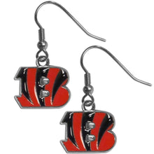 Load image into Gallery viewer, Cincinnati Bengals Dangle Earrings - Conrads College Gifts
