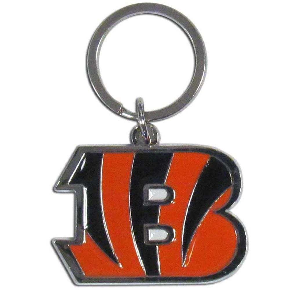 Cincinnati Bengals Enameled Key Chain - Conrads College Gifts