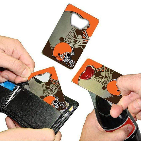 Cleveland Browns Credit Card Style Bottle Opener - Conrads College Gifts