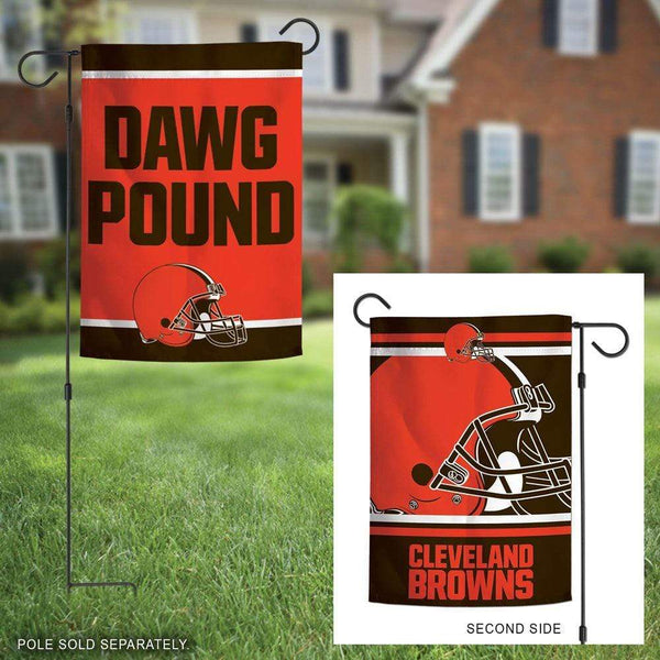Cleveland Browns Double Sided Garden Flag