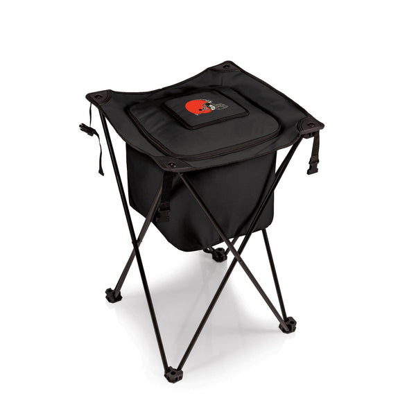 Cleveland Browns Sidekick Portable Standing Beverage Cooler (Black) - Conrads College Gifts