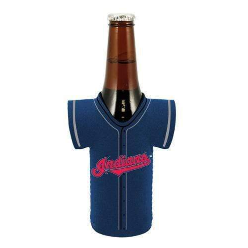 Cleveland Indians Bottle Jersey Koozie - Conrads College Gifts