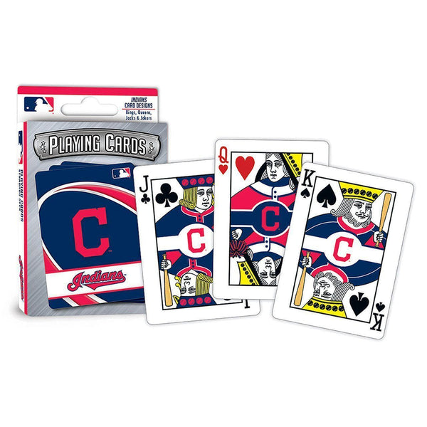 Cleveland Indians Playing Cards - Conrads College Gifts