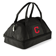 Load image into Gallery viewer, Cleveland Indians Potluck Casserole Tote (Black) - Conrads College Gifts