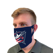 Load image into Gallery viewer, Columbus Blue Jackets Face Mask - Conrads College Gifts