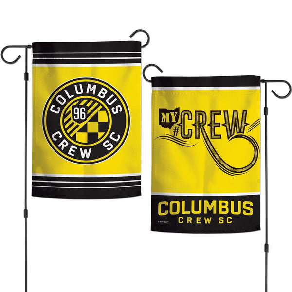 Columbus Crew 2 Sided Garden Flag - Conrads College Gifts