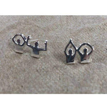 Load image into Gallery viewer, O-H-I-O People Earrings - Conrads College Gifts