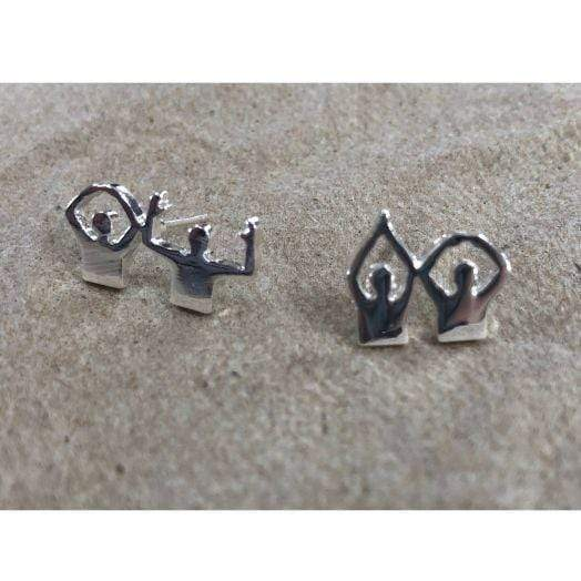 O-H-I-O People Earrings - Conrads College Gifts