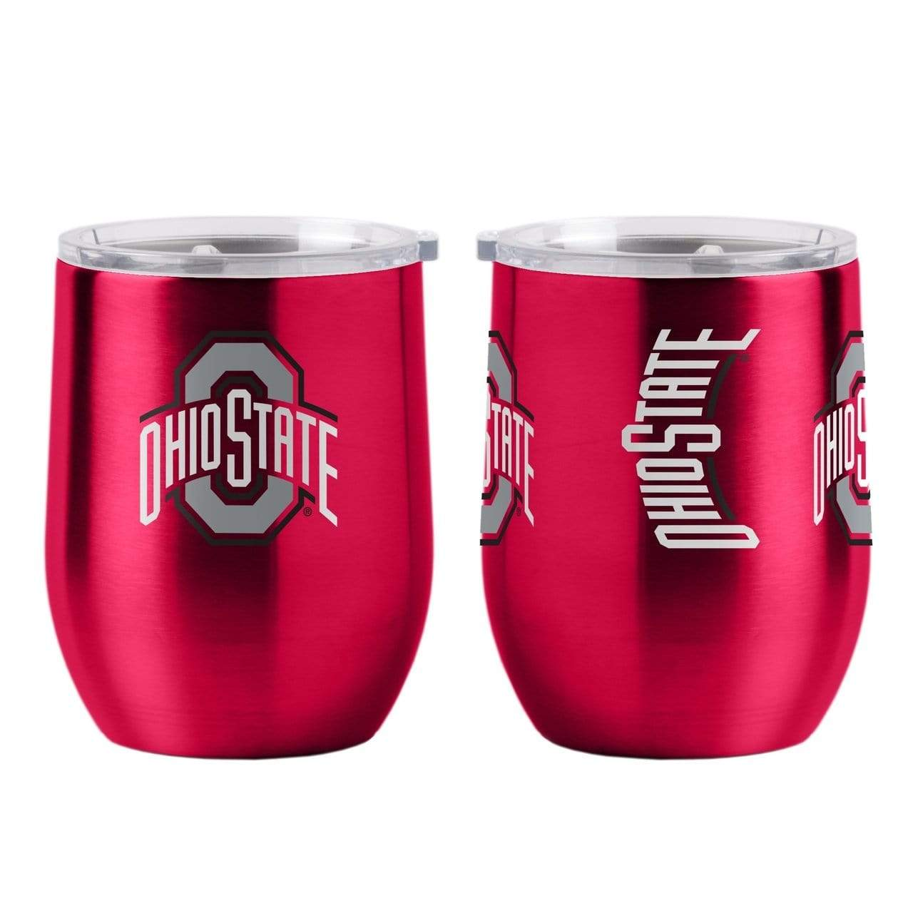Ohio State 16 oz Curved Ultra Tumbler with Lid - Conrads College Gifts
