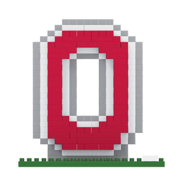 Ohio State Block O Logo BRXLZ Building Blocks Set - Conrads College Gifts