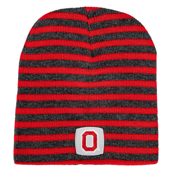 Ohio State Block O Striped Knit Hat