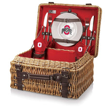 Load image into Gallery viewer, Ohio State Buckeyes Picnic Basket (Red) - Conrads College Gifts
