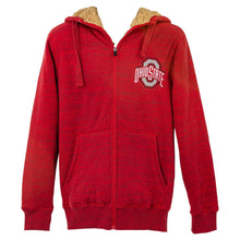 Load image into Gallery viewer, Ohio State Faux Fur Zip-Up Hooded Sweatshirt - Conrads College Gifts
