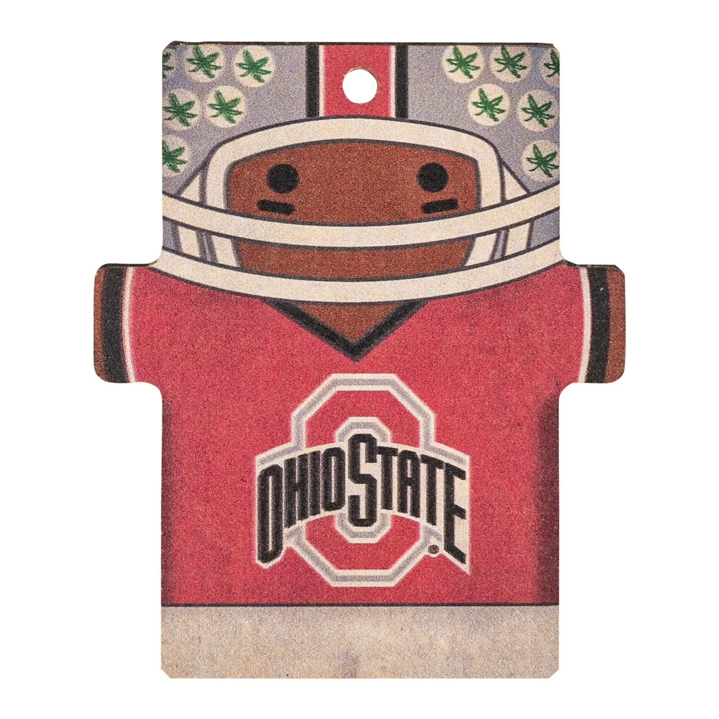 Ohio State Football Player Ornament