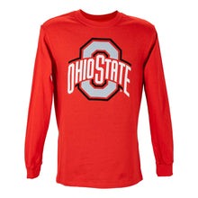 Load image into Gallery viewer, Ohio State Large Athletic O Long Sleeve T-Shirt