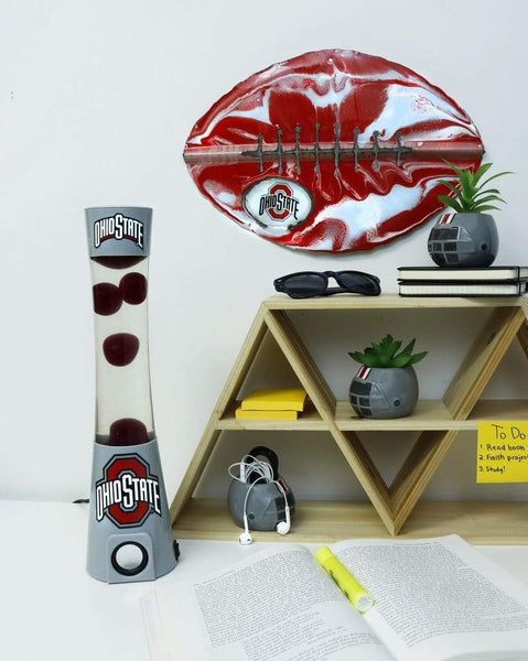 Ohio State Lava Lamp and Bluetooth Speaker - Conrads College Gifts