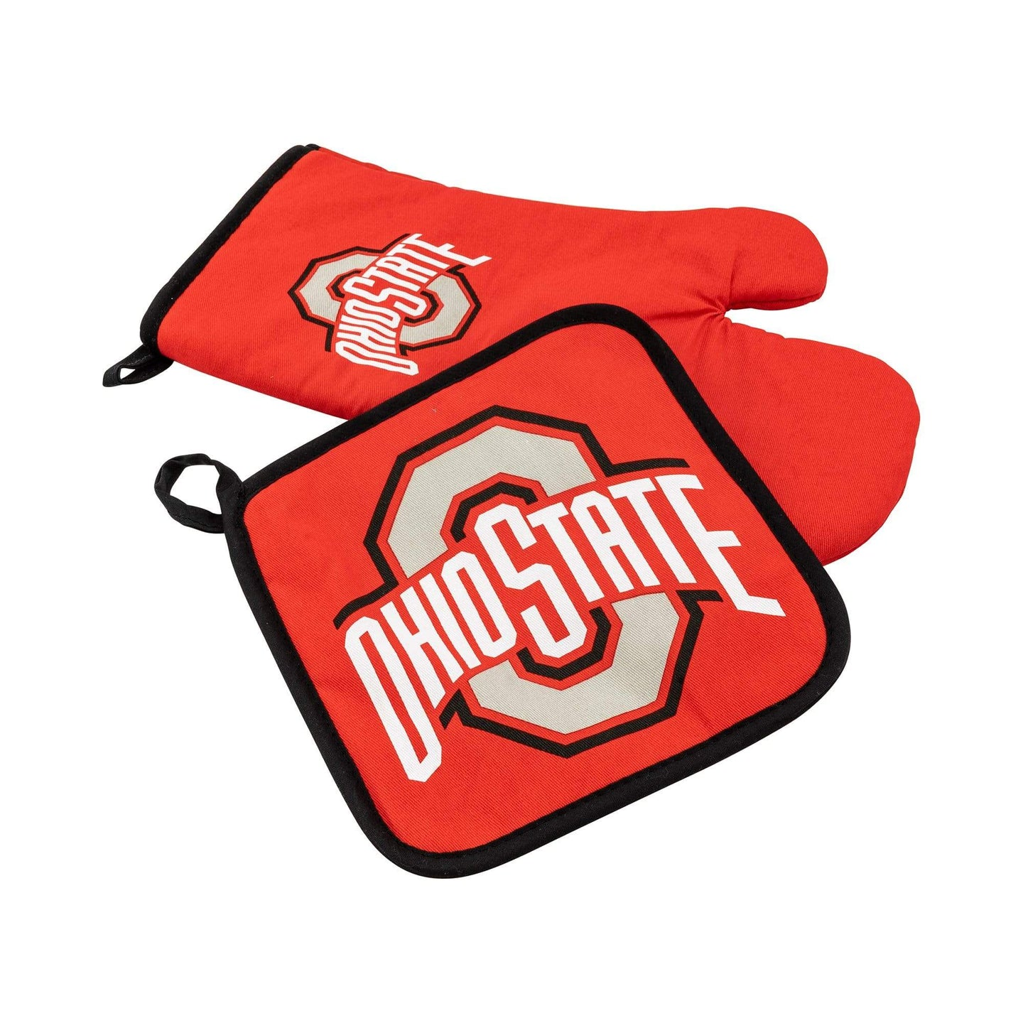 Ohio State Oven Mitt and Pot Holder