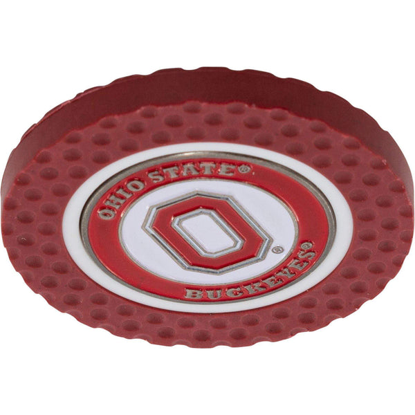Ohio State Red and White Golf Chip Marker - Conrads College Gifts
