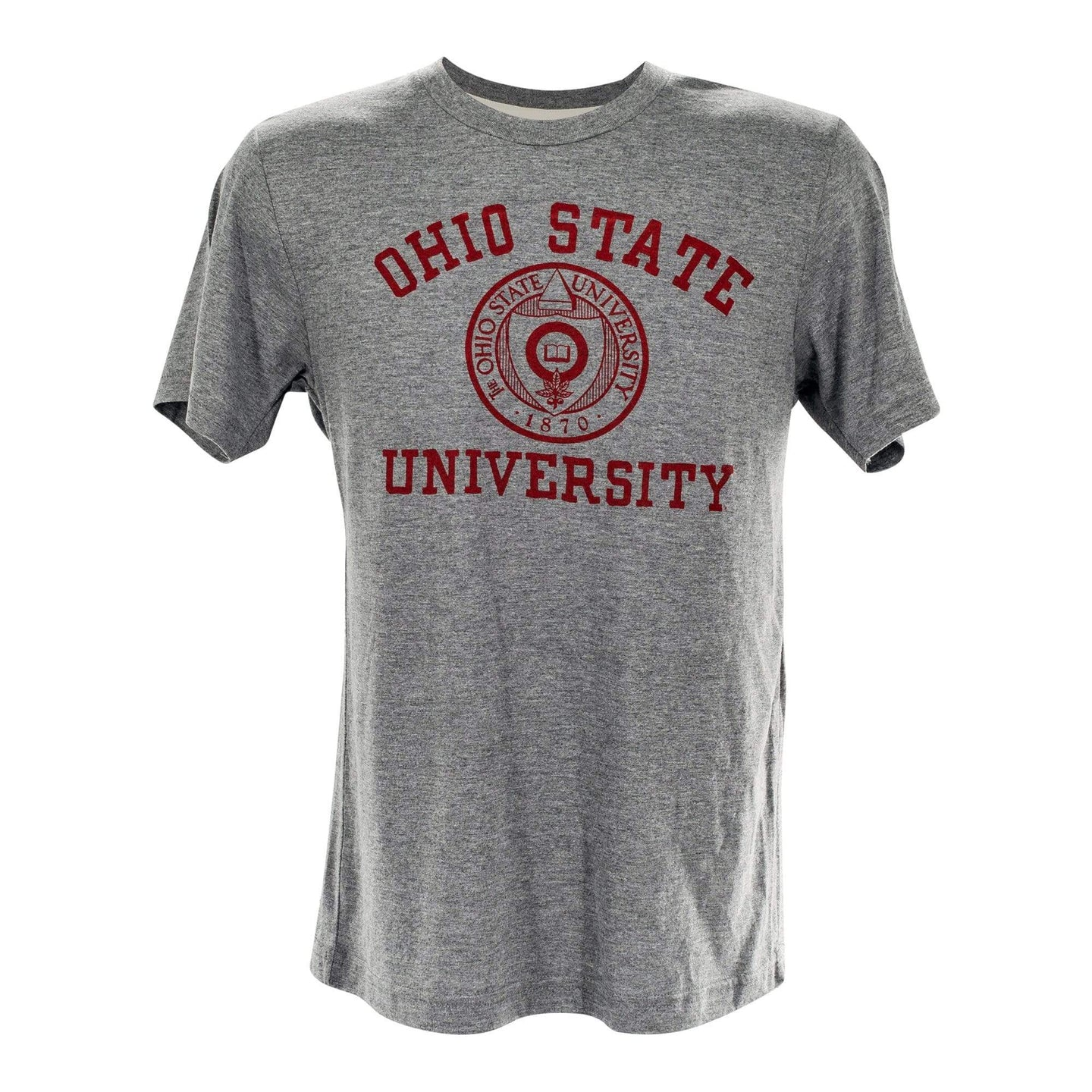 Ohio State University Seal Vintage Gray T-Shirt