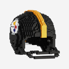 Load image into Gallery viewer, Pittsburgh Steelers 3D Building Blocks BRXLZ Helmet Set - Conrads College Gifts