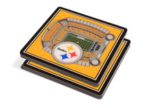 Load image into Gallery viewer, Pittsburgh Steelers 3D Stadium Coasters - Conrads College Gifts
