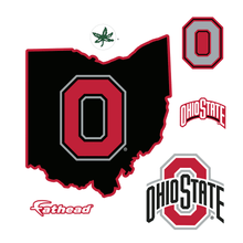 Load image into Gallery viewer, State of Ohio FatHead - Giant Officially Licensed Removable Wall Decal - Conrads College Gifts