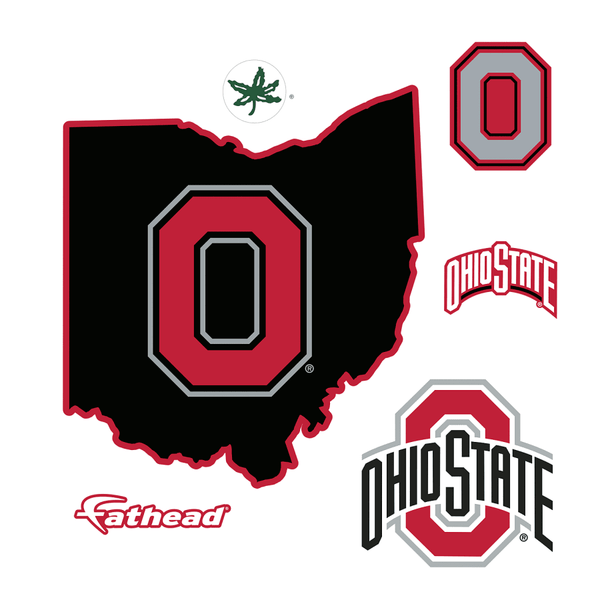 State of Ohio FatHead - Giant Officially Licensed Removable Wall Decal - Conrads College Gifts