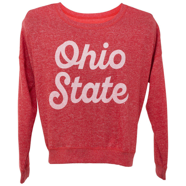 Women's Cozy Ohio State Crew Sweater - Conrads College Gifts