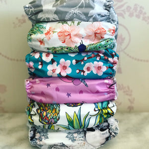 Girls Bundle of 6 Nappies