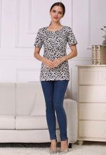 Load image into Gallery viewer, Leopard Print Breastfeeding Tee
