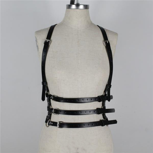 Bonnie Chest Cage Harness - veronalifestyle.com