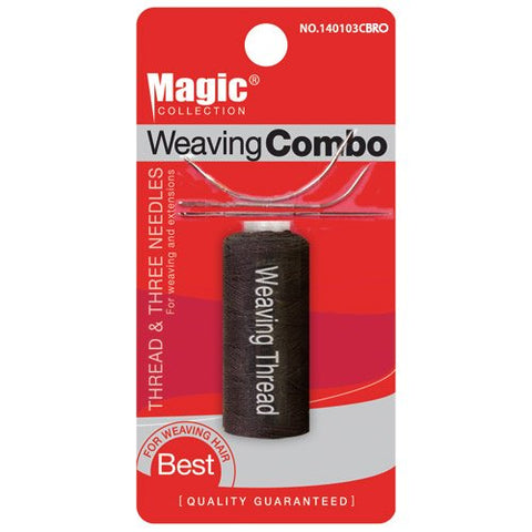 Magic Collection Weaving Combo Thread & Needles Set (1pk)