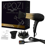 KIPOZI 1875W Salon Professional Nano Ionic Hair Dryer