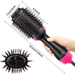 MADAMI Hot Air Brush One Step 2-in-1 Hair Dryer & Styler
