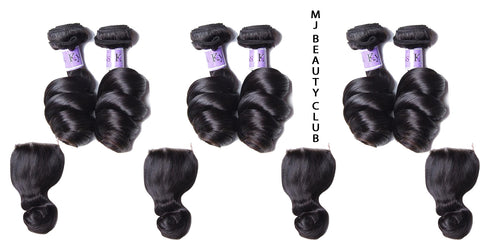 Peruvian Loose Wave Hair (10 piece lot)